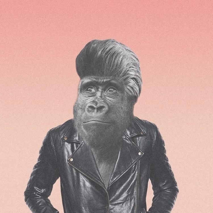 Jopo Sapiens [  - collage, illustration - valenvq | ello