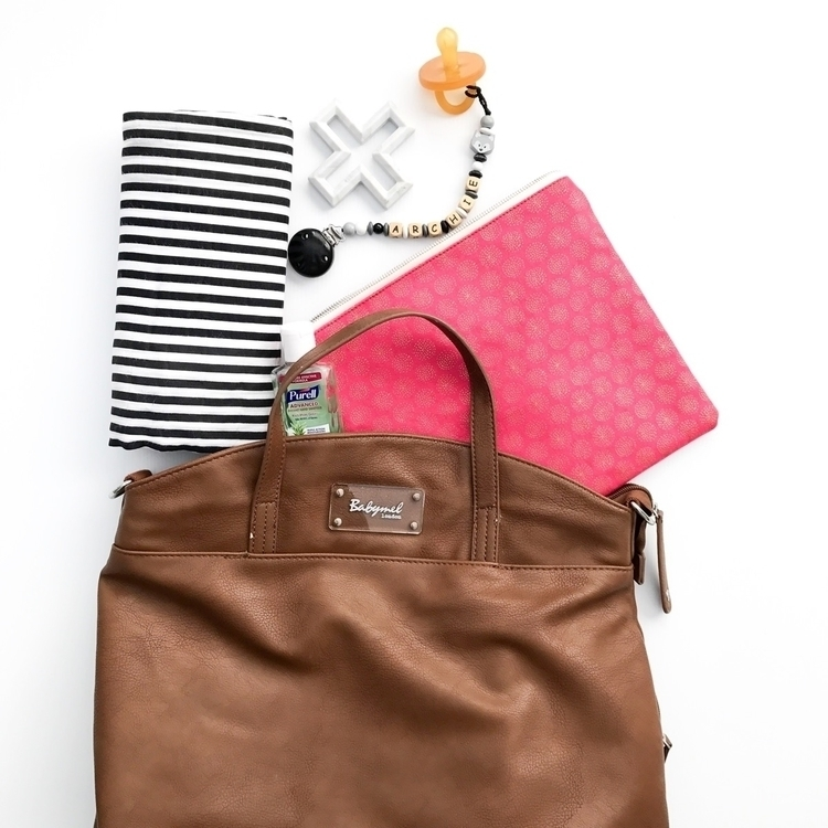 Nappy bag essentials. Pink Bell - zeke_and_co | ello