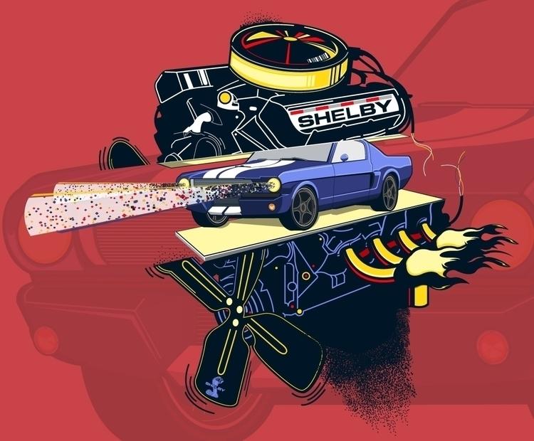 1966 Ford Shelby - DigitalDecadeCyberia - kzengjiang | ello