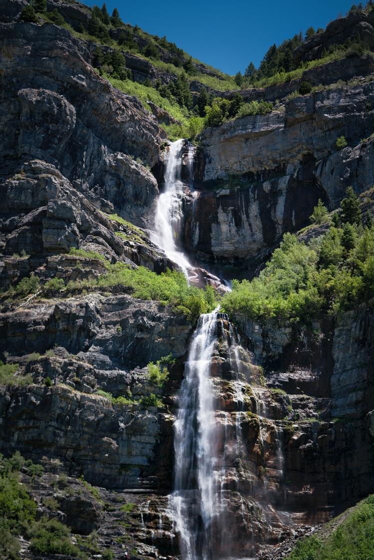 Bridal Veil Falls side road Uta - rickschwartz | ello