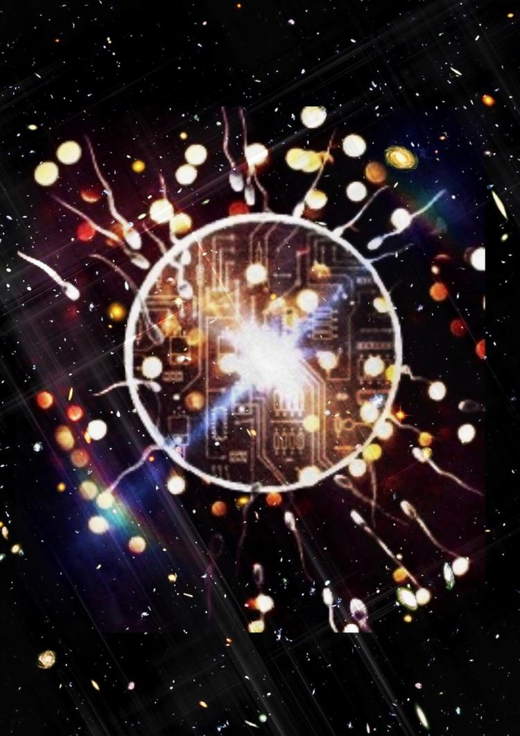 Cyberia BIG Bang! increasing fo - artistmark | ello