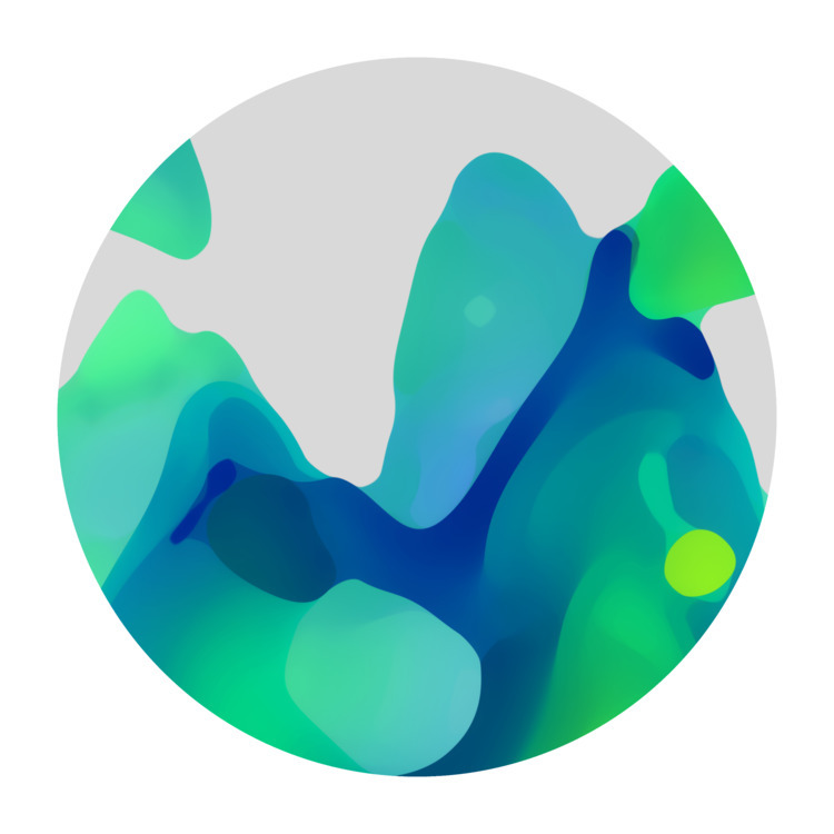 Green Pāhoehoe Lava - art, abstract - zeroing   ello