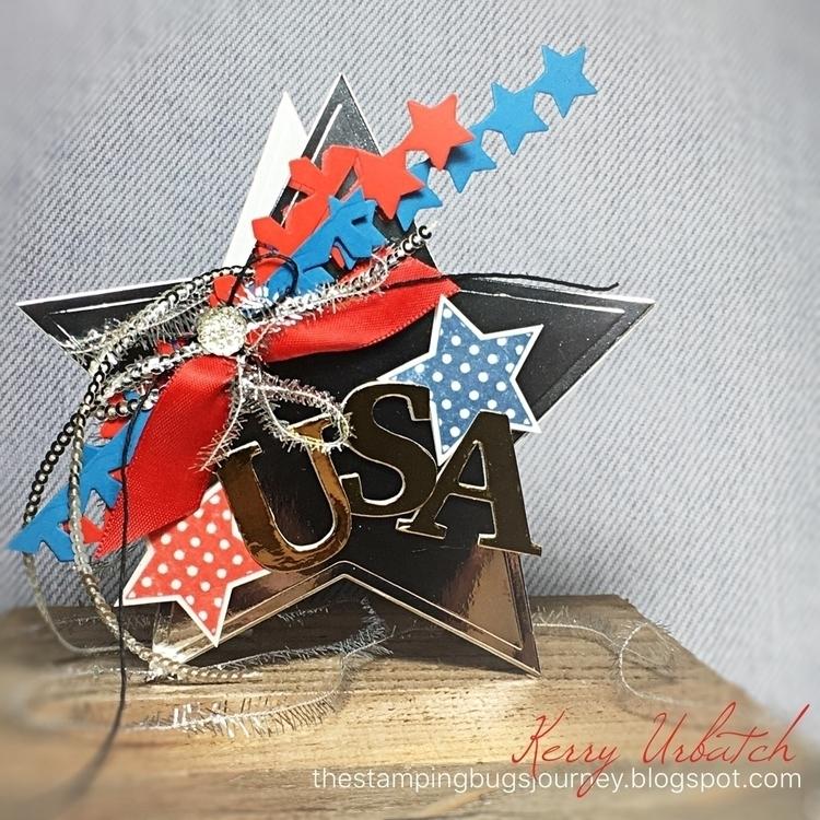 Happy Fourth July - stampinbugkerry | ello
