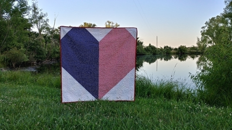 4th July fireworks, homemade ic - sliceofpiquilts | ello