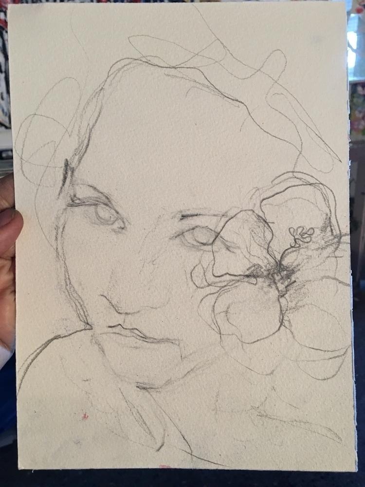 Sketchy sketchy selfie today - art - arnabaartz   ello