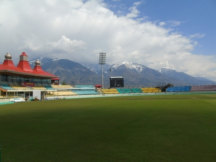 cricket stadium - Dharamsala, india - satya_dev | ello