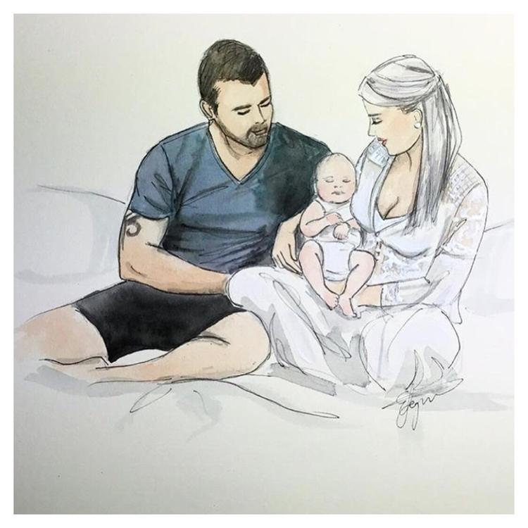 beautiful illustrations giving  - littlebeanorganics   ello