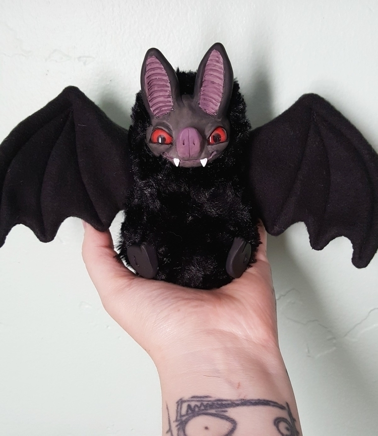 ooak art doll bat - gigikatz | ello