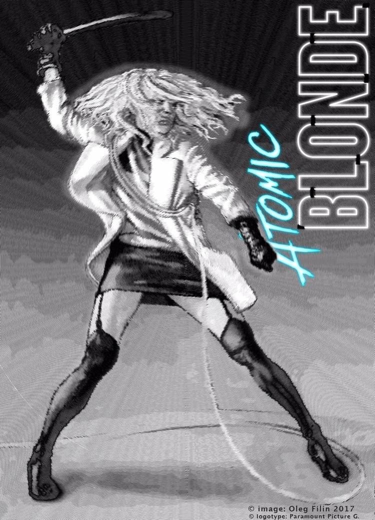 ACTION: 'Atomic Blonde' poster  - filin | ello