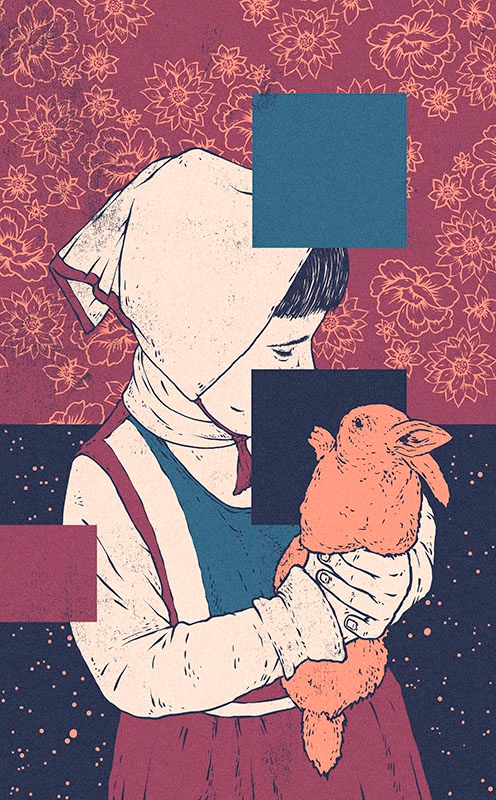 ate, illustration, art, rabbit - esze_ate | ello