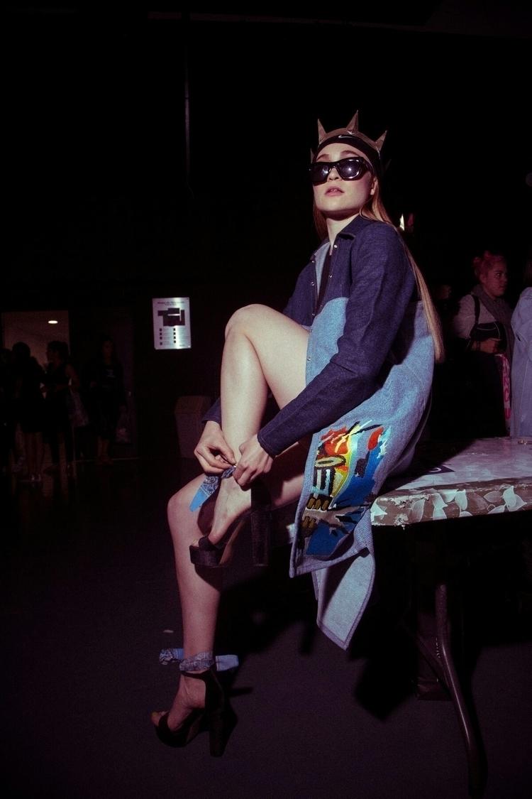 fashion show backstage - Tescum - tescum   ello