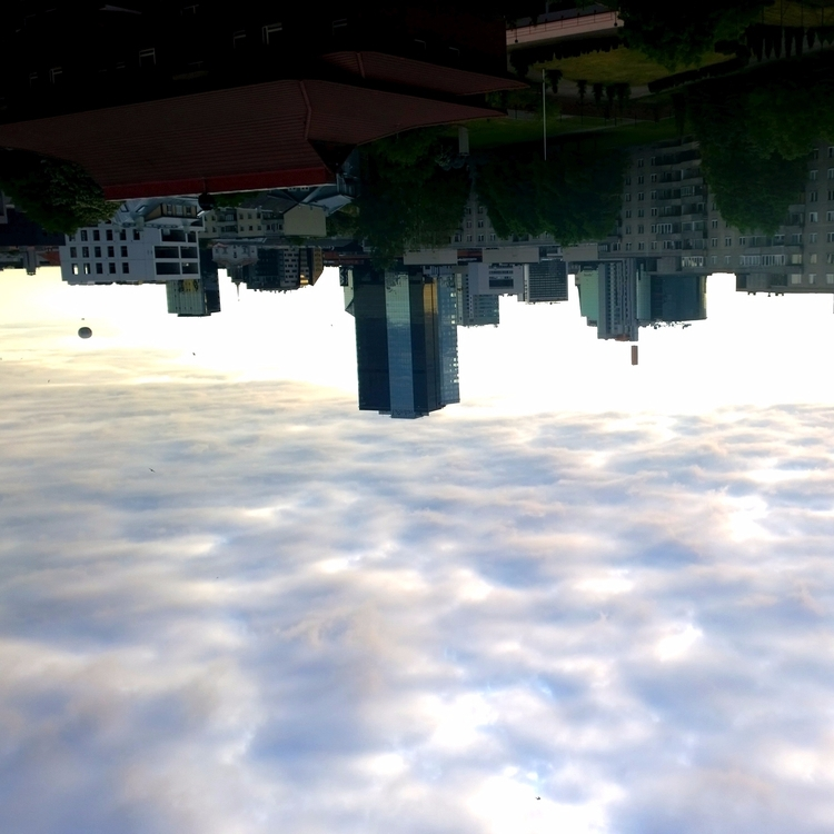 world upside walk clouds - sky, cityscape - norre01 | ello