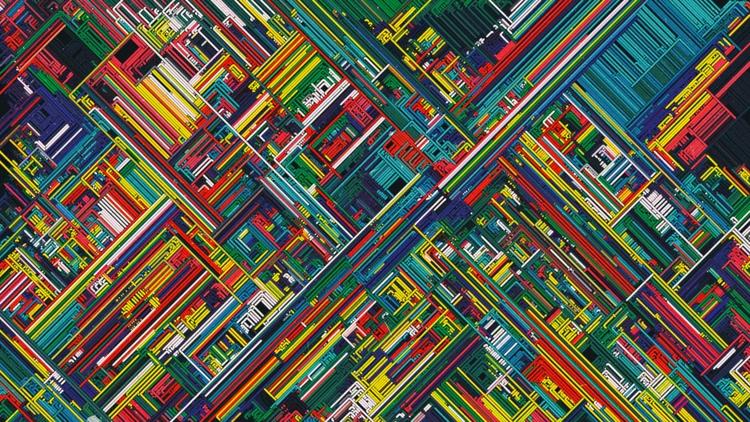 design, random, lines, generative - yuyatakeda | ello