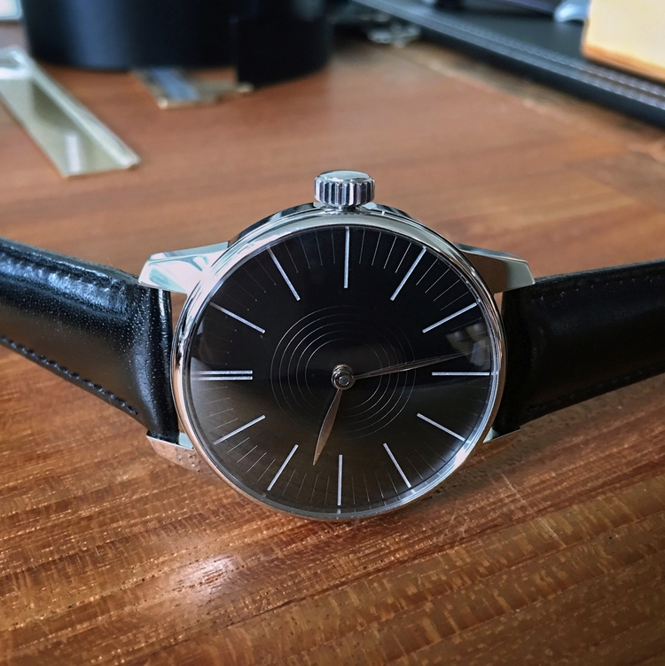 Variant Moderna edition engrave - bespokewatchprojects | ello