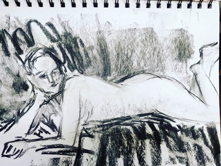 figure drawing model 38th birth - cameronaubernon | ello