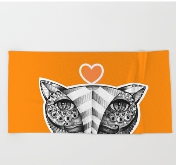 beach towel. 20% free shipping  - trinkl | ello