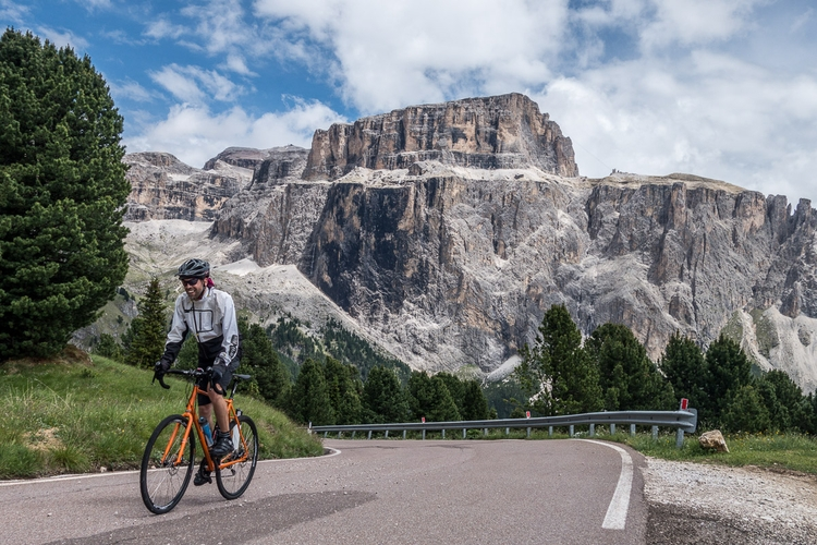 Sella Ronda Road- Mountainbike - haraldbinich | ello