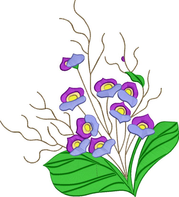 beautiful embroidery flowers - deanambro101 | ello