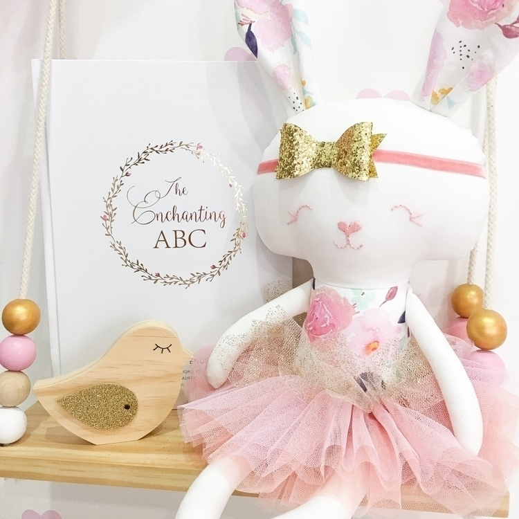 listed! Penelope Bunny Doll Sit - rhapsodyandthread | ello