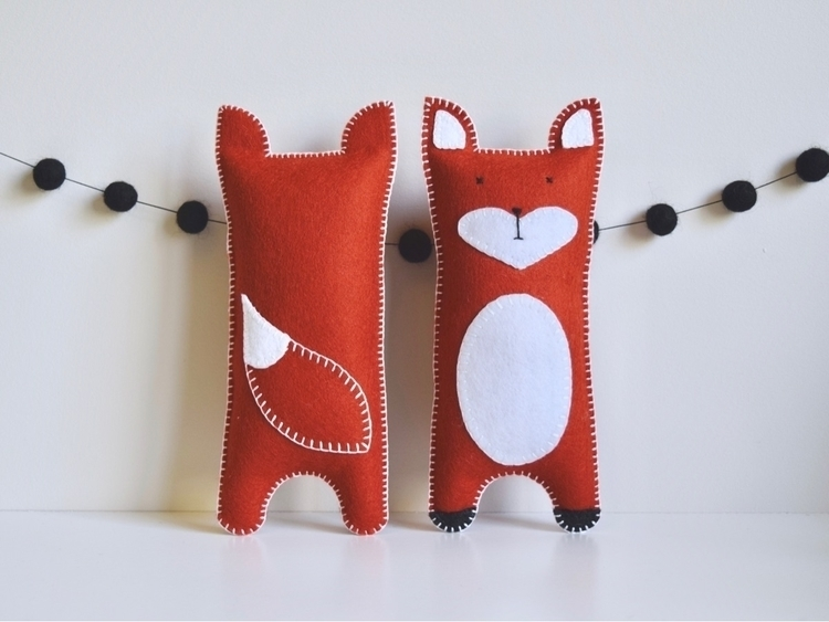 Foxes store - woolfeltsofties, woolfelttoys - petithabitat | ello