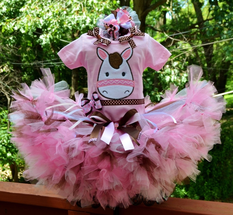 Country cowgirl pony tutu sizes - kattskreations | ello
