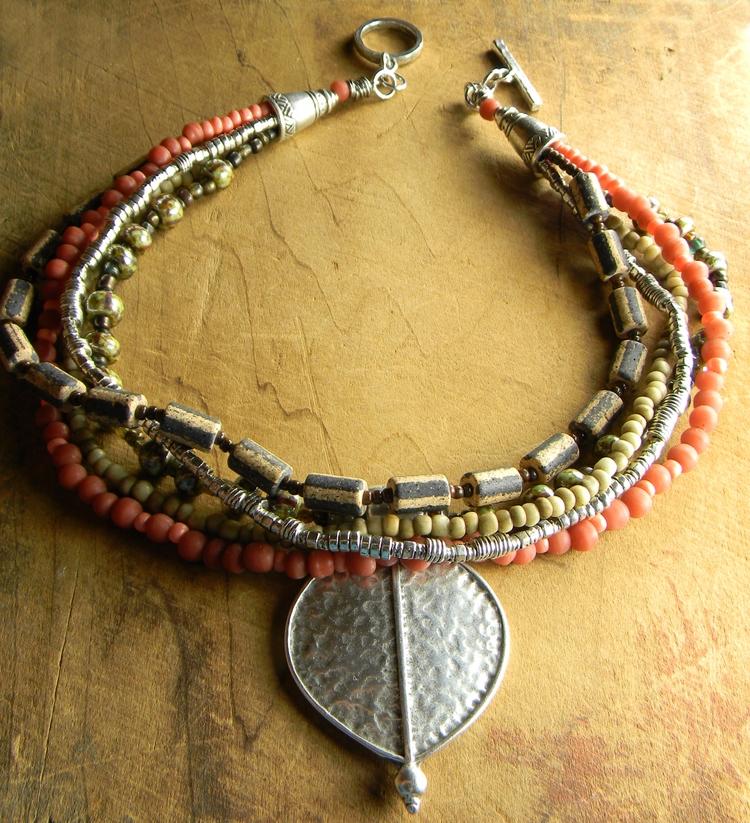 favorite multi-strand trade bea - chrysalistribaljewelry | ello