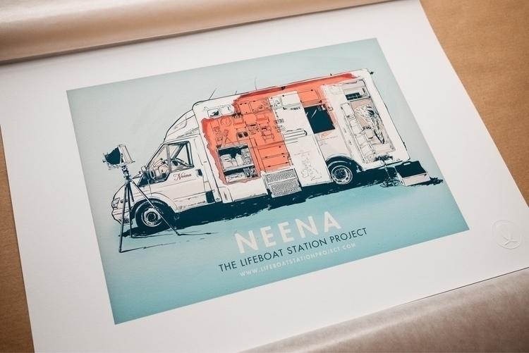2017 Neena print! [A3 print / e - jacklowe | ello