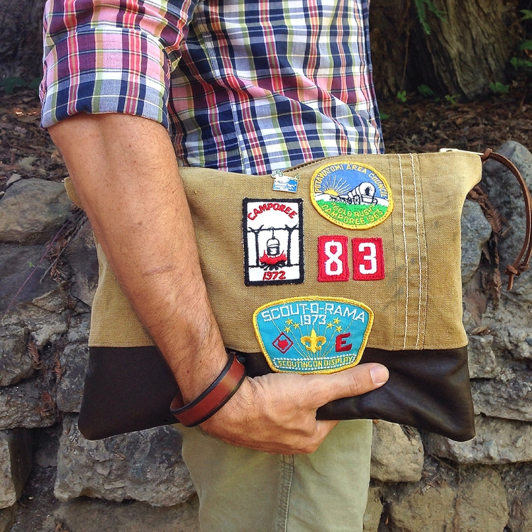 Zippered pouch Camp Scout Colle - patrickdenanddelve   ello