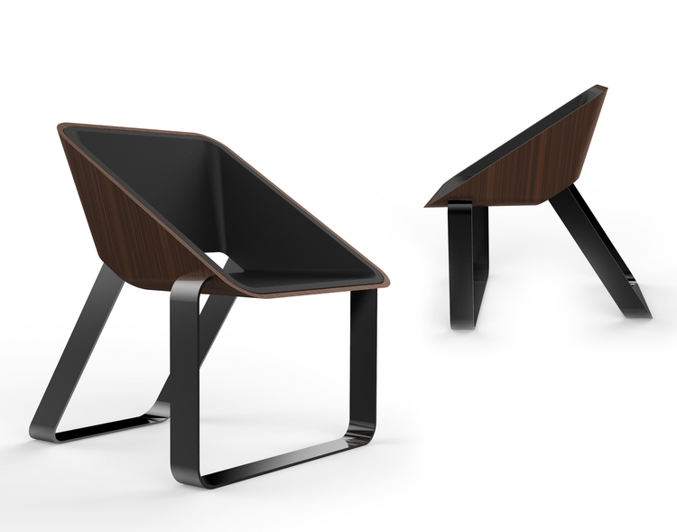 Lunar Lander lounge chair conce - jamesowendesign | ello