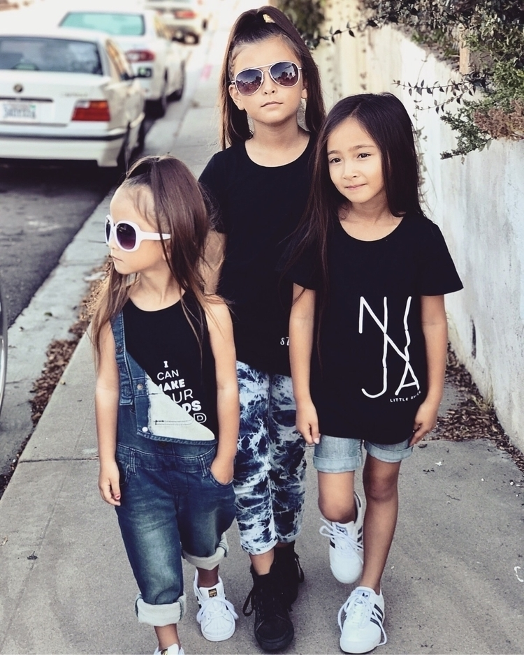 girls killin Ryder tees:raised - littleryderclothing | ello