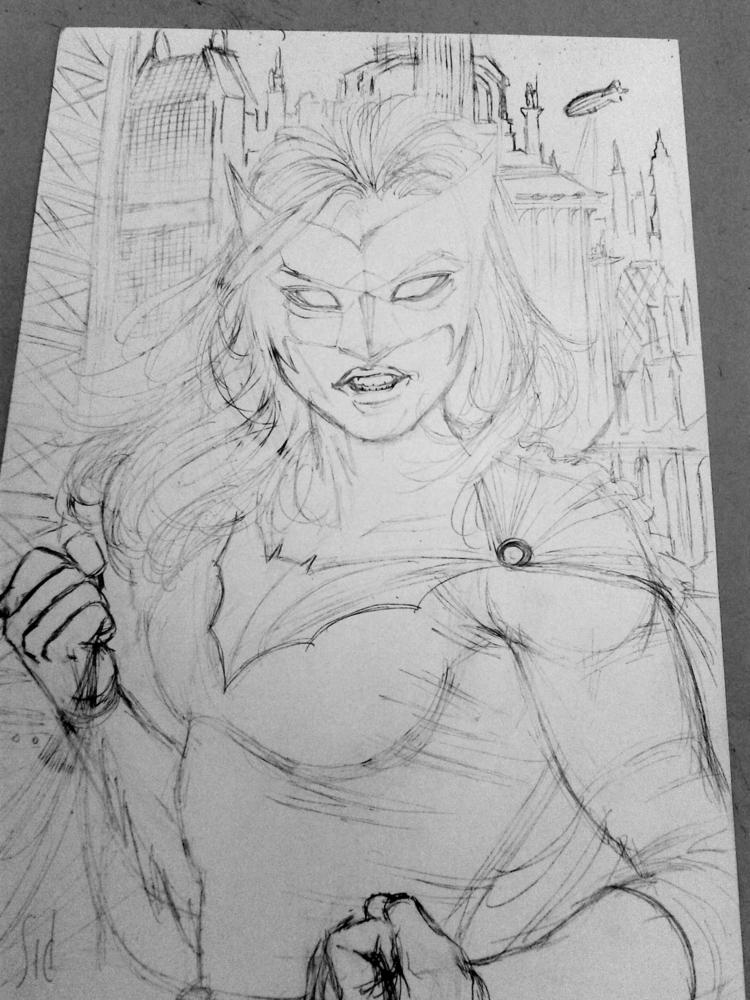 Batwoman Wip - sidteles | ello