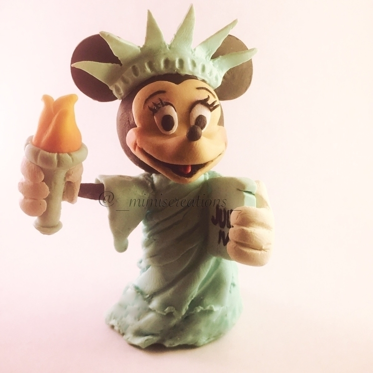 Minnie Mouse Lady Liberty colla - mimiscreations | ello