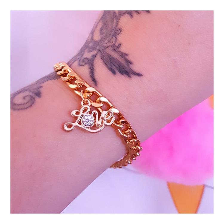 Love Charm Bracelet - pinkbutterflybella | ello
