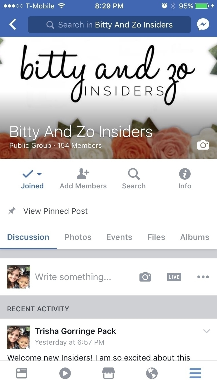 Join Facebook VIP group exclusi - bittyandzo | ello