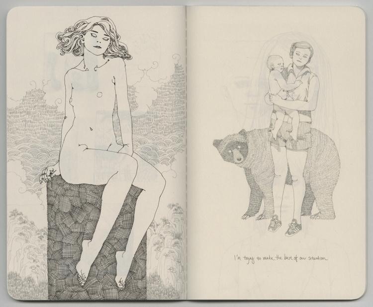 sketchbook - lucong   ello