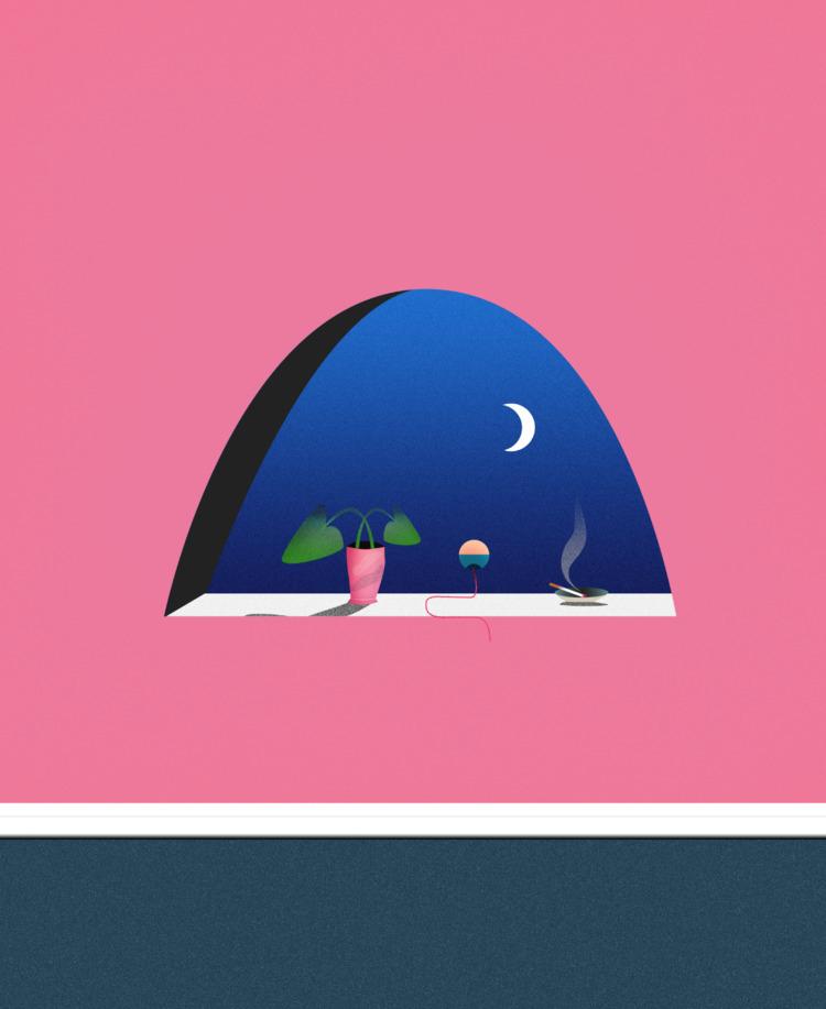 Delusive Nights, 2017 - art, illustration - esdanielbarreto | ello