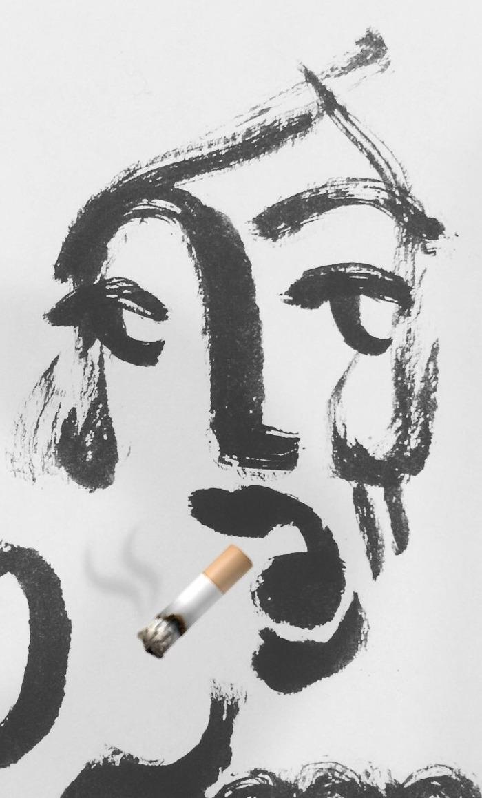 Emojiness  - illustration, sketch - mico_l | ello