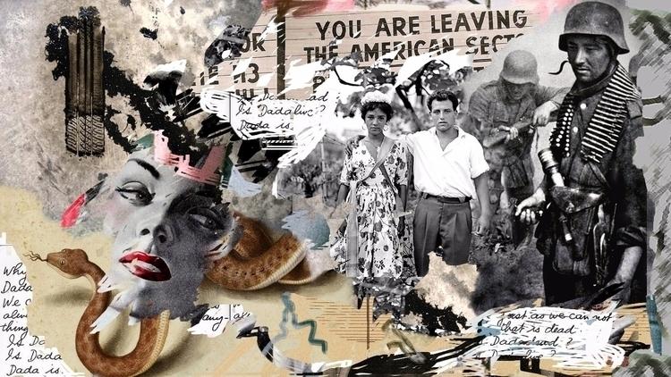 Dada - collageart, digitalart, digitalcollage - deligne | ello