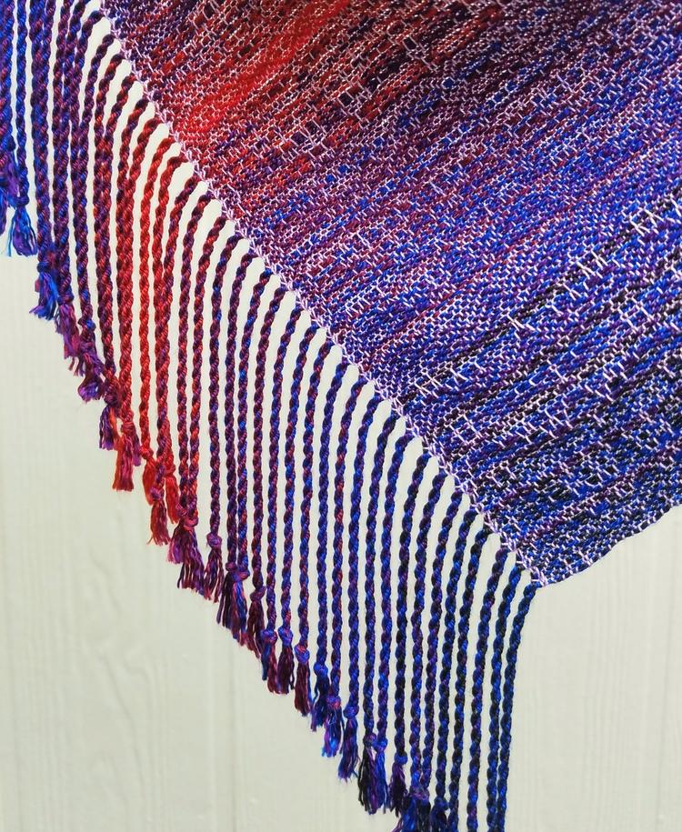 handwoven, scarf, amazonhandmade - annabweaving | ello