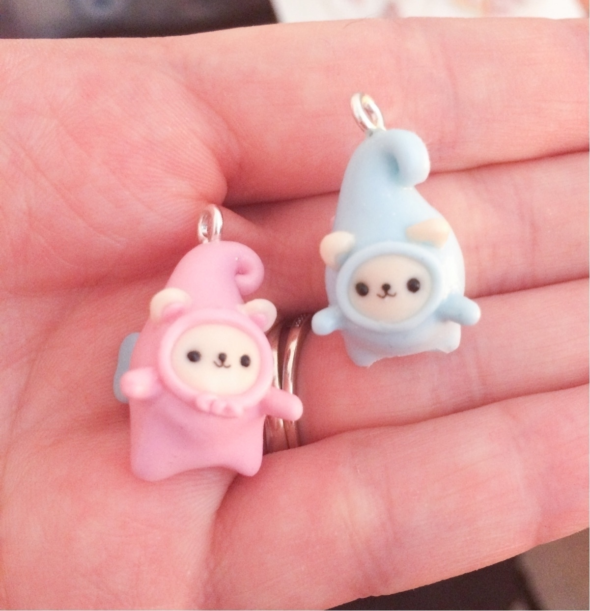 Fairy bears! newest clay creati - curioustoot | ello