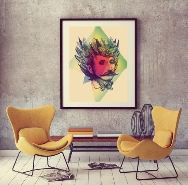 framed art print - giclee, livingroom - trinkl | ello