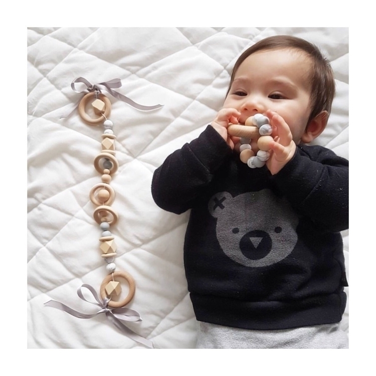 •PRAM GARLAND TEETHING RING• ha - ellecollective | ello