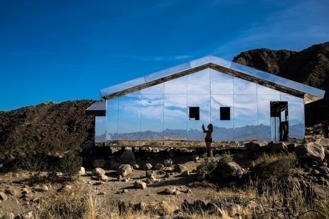 Reflection Desert Mirage Doug A - peligropictures | ello