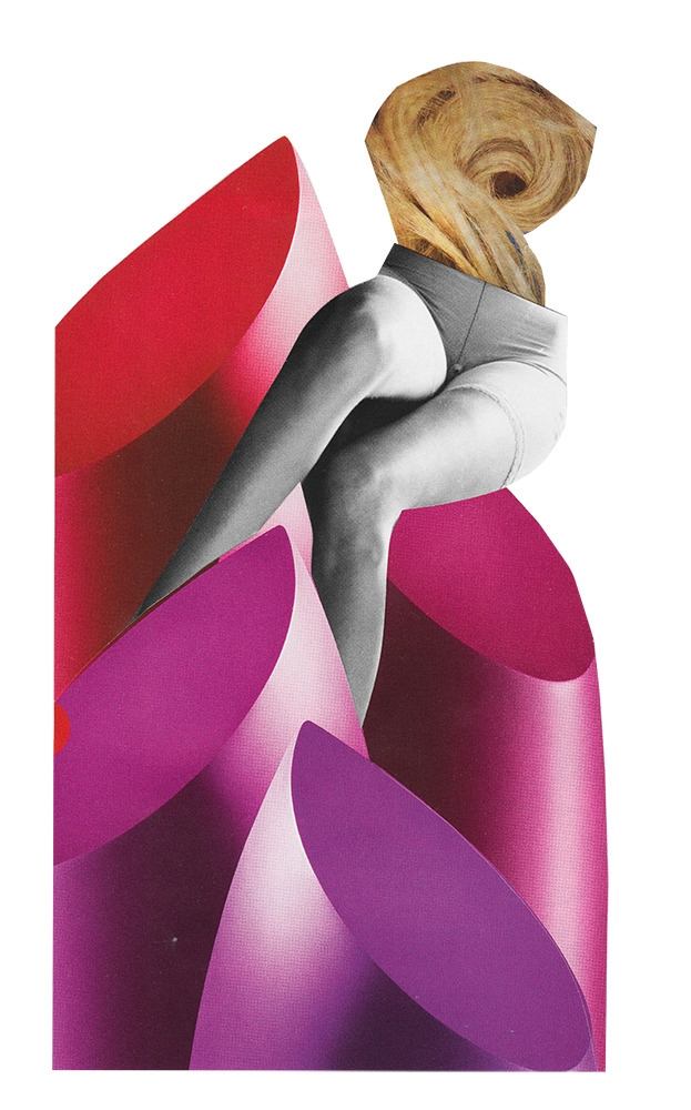 Fall, 2017 - lipstick, pink, collage - itslucamainini | ello