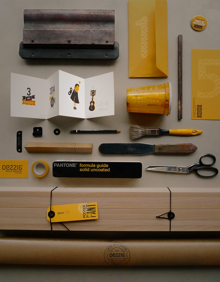 Tools screenprinter Dezzig Work - dezzig | ello