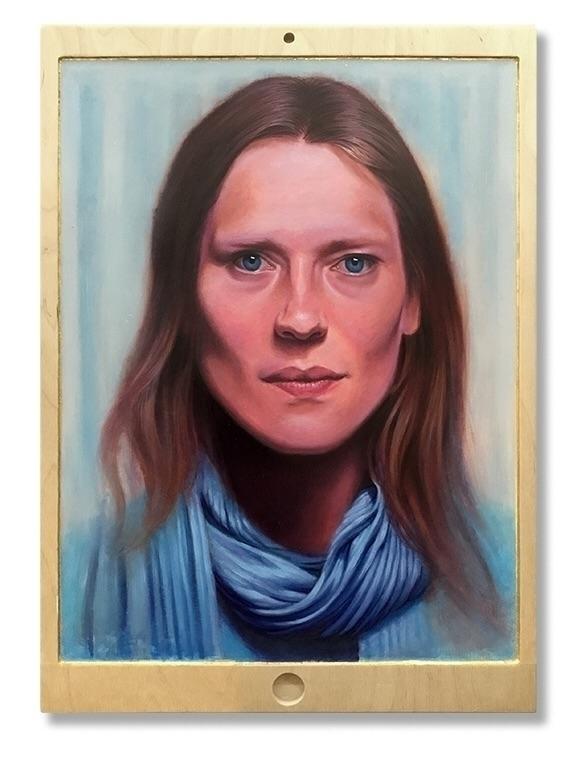 Portrait Mode, Oil Gold Leaf Cu - austin_eddy | ello