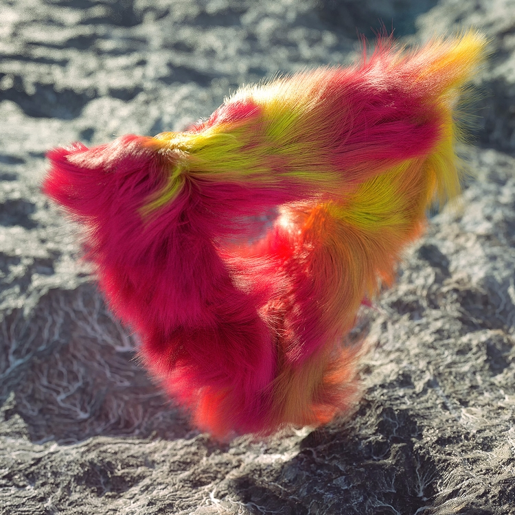 Fluffy Mood - hair, fur, abstract - dimashishkov   ello