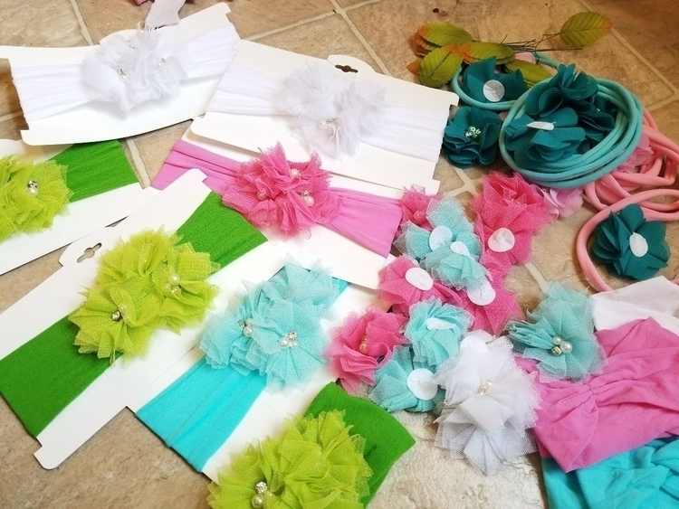craft show prepping  - crafts, crafting - shabbiegirlbowtique | ello