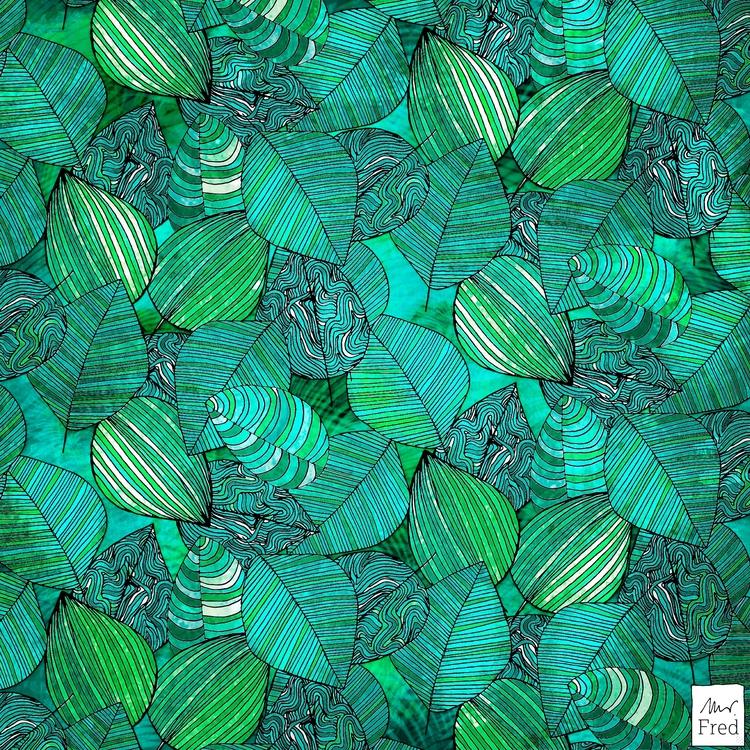 jungle! no59 - pattern, junglepattern - mister_fred_berlin | ello