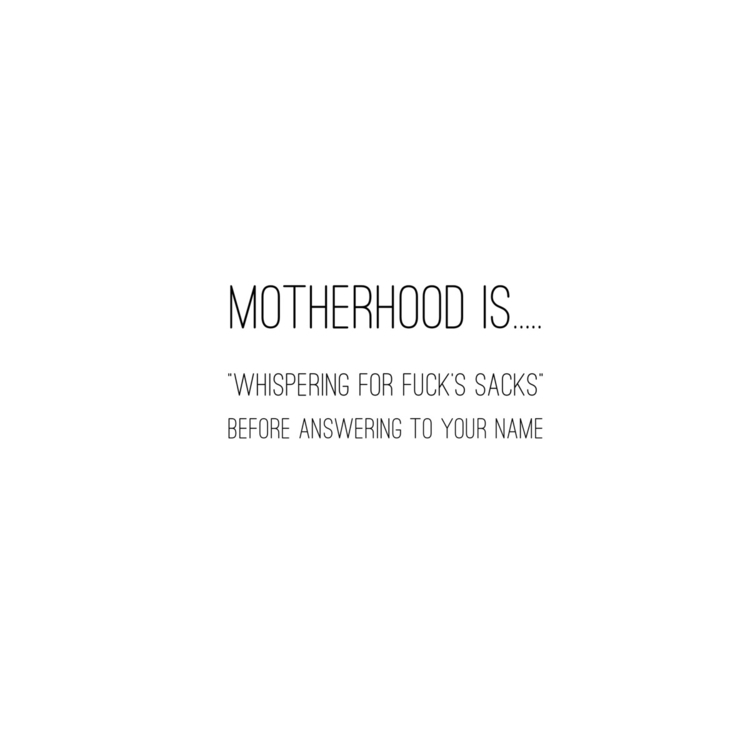 Guilty morning  - unitedinmotherhood - onelittletwolittle | ello